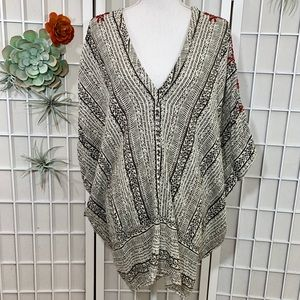Free People Tribal Embroidered Tunic
